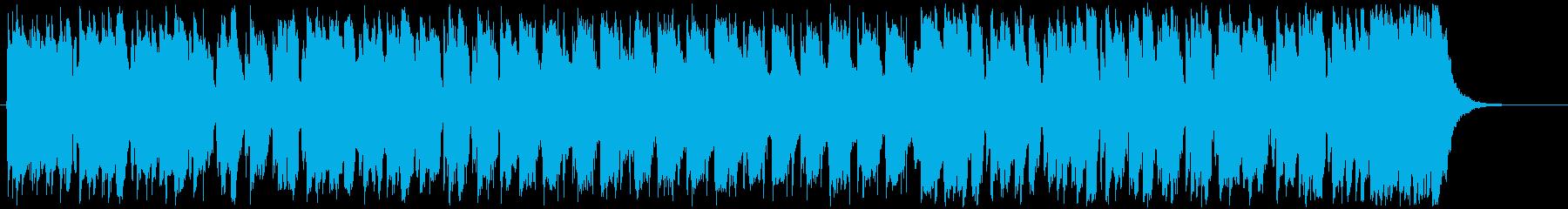 アップビート、アップテンポシャッフ...の再生済みの波形