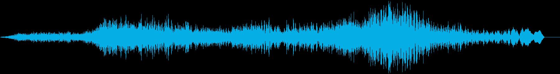 勝利した場面などで使用できるジングルの再生済みの波形