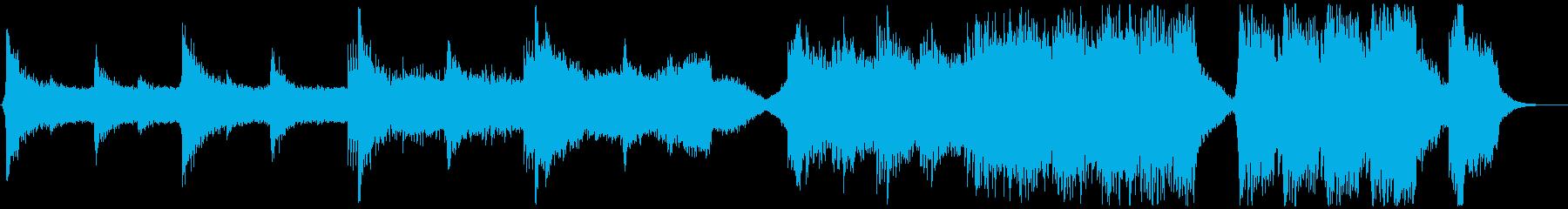 トレーラー・緊張感の再生済みの波形