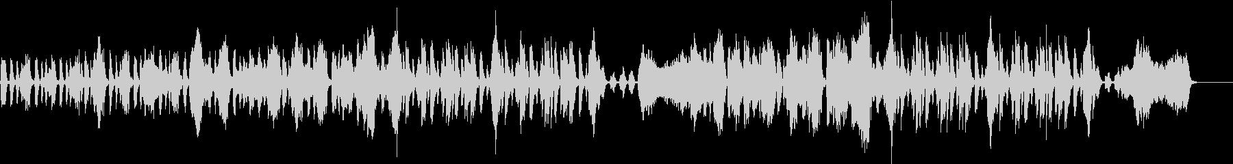 ポップ、爽やか、日常BGM_展開なしの未再生の波形