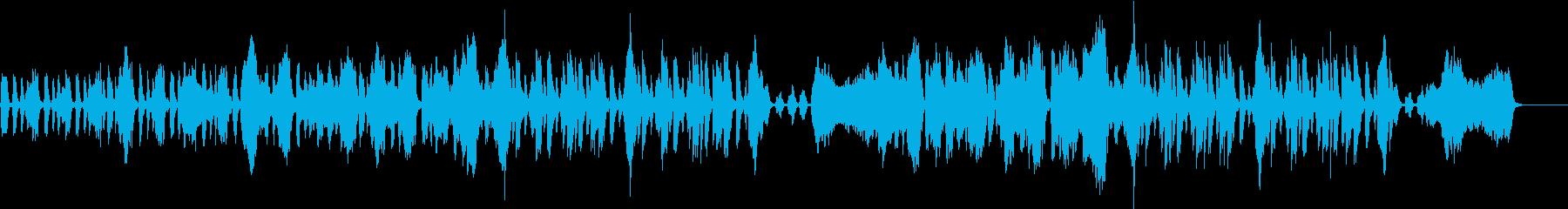 ポップ、爽やか、日常BGM_展開なしの再生済みの波形