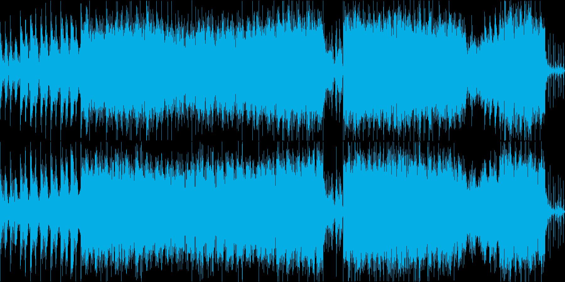 電子系企業VPゲーム映像工場ハイテクの再生済みの波形