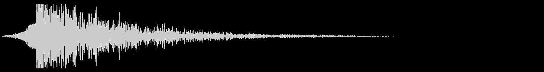 シュードーン-22-3(インパクト音)の未再生の波形