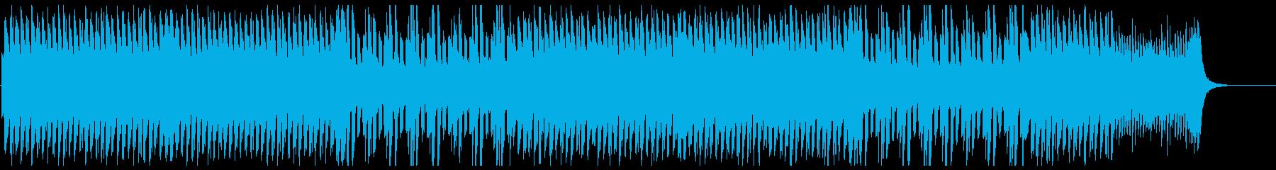 颯爽感のある美しいメロディのピアノの再生済みの波形