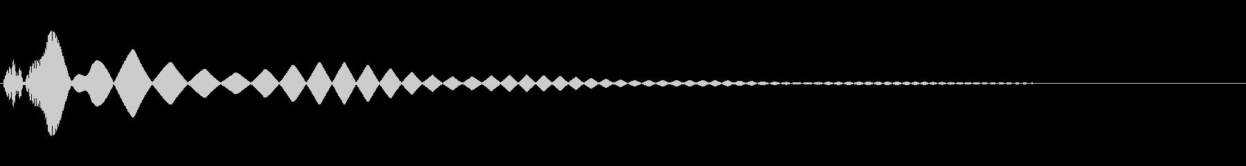 さまざまなピッチの複数のインターフ...の未再生の波形