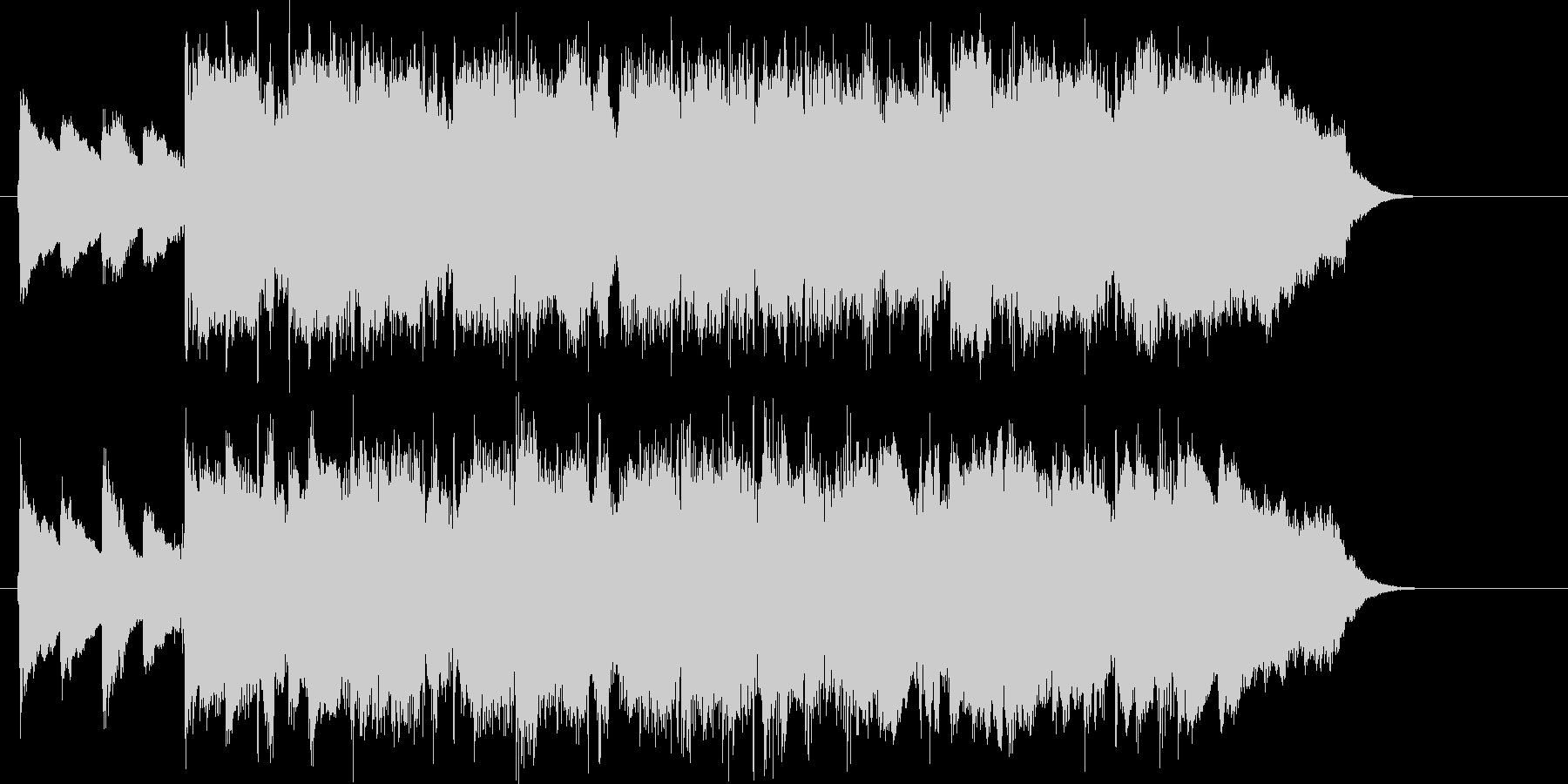 爽やかで懐かしいメローなピアノジングルの未再生の波形