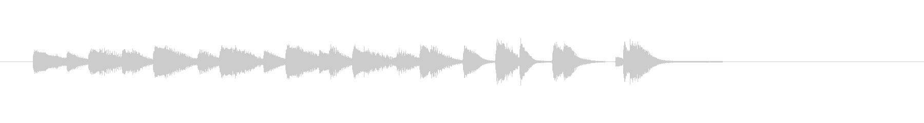 Jazz Piano Jingle 1の未再生の波形
