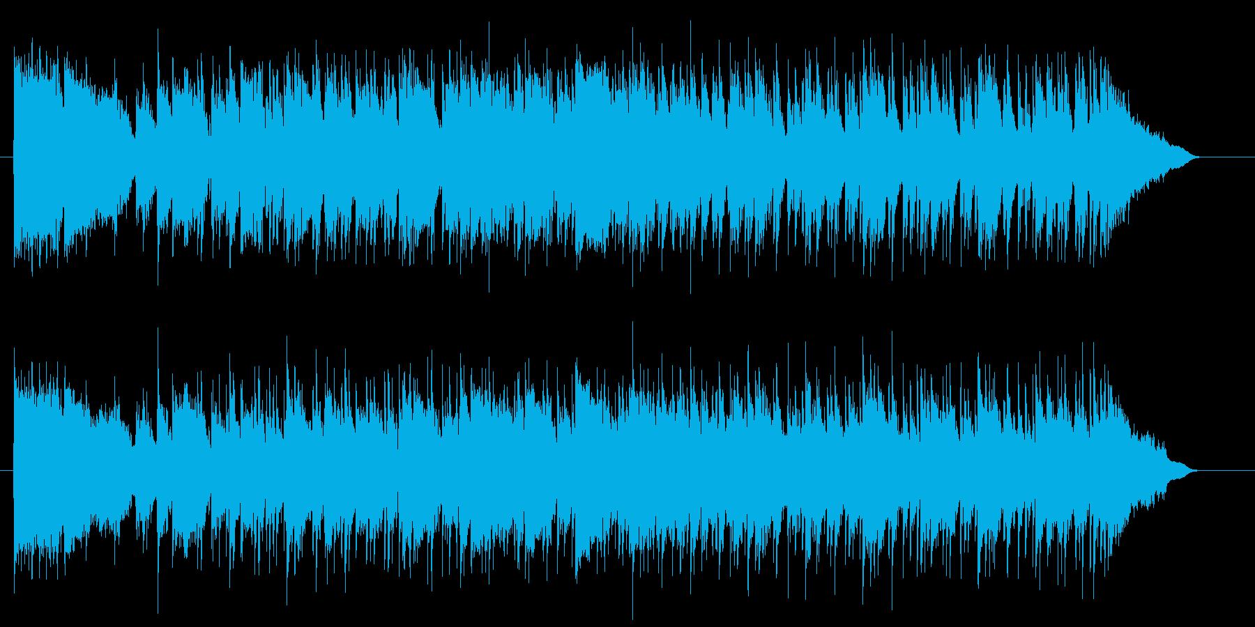 ムーディで哀愁感あるポップサウンドの再生済みの波形