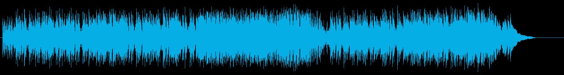足取り軽い陽気なホンキートンク・ポップスの再生済みの波形