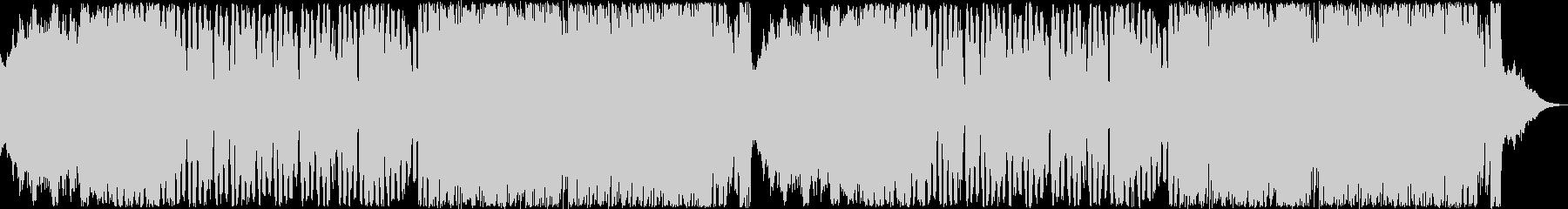 レトロゲーム風BGM(エンド、クリア)の未再生の波形