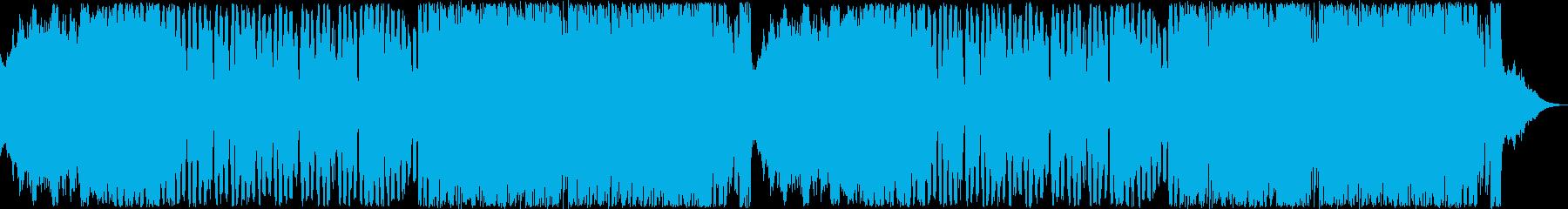 レトロゲーム風BGM(エンド、クリア)の再生済みの波形