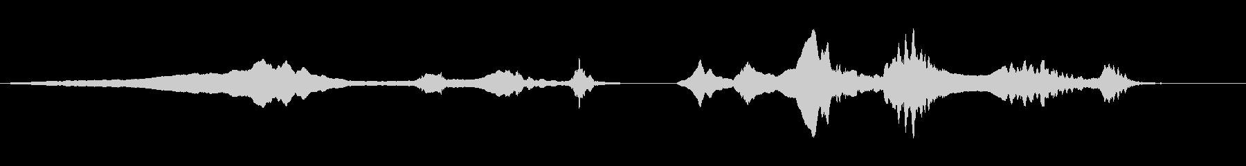尺八 生演奏 古典風 残響音有 4の未再生の波形