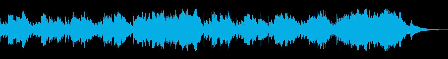 まったりしたアコギと管楽器のサウンドの再生済みの波形