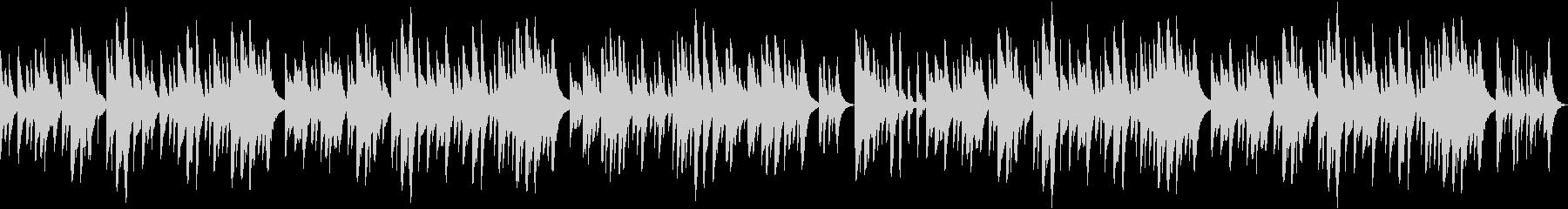 穏やかなオルゴールバラード(ループ可)の未再生の波形