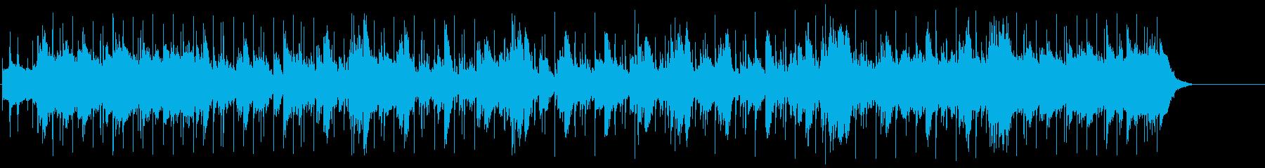 ジャジーな夜のアダルトなマイナーポップの再生済みの波形