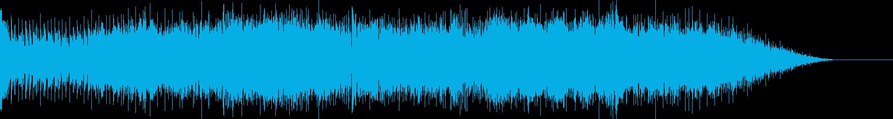 アウトロの再生済みの波形