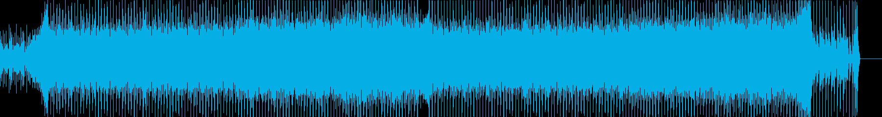 怪しい雰囲気のダンスビートの再生済みの波形