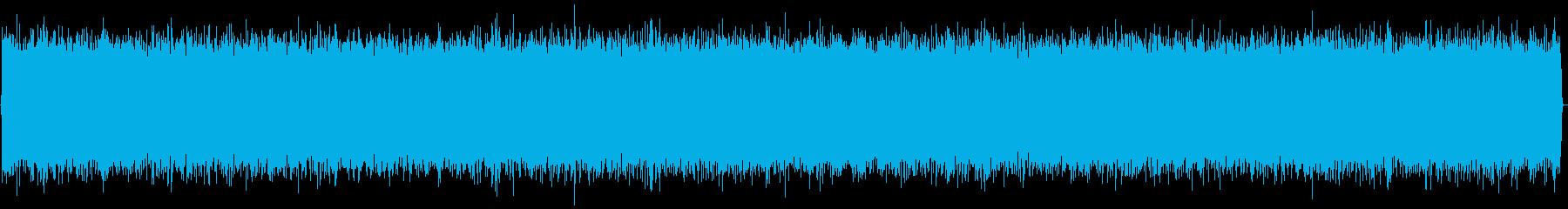 ノイズ(ゴーッ)長めの再生済みの波形