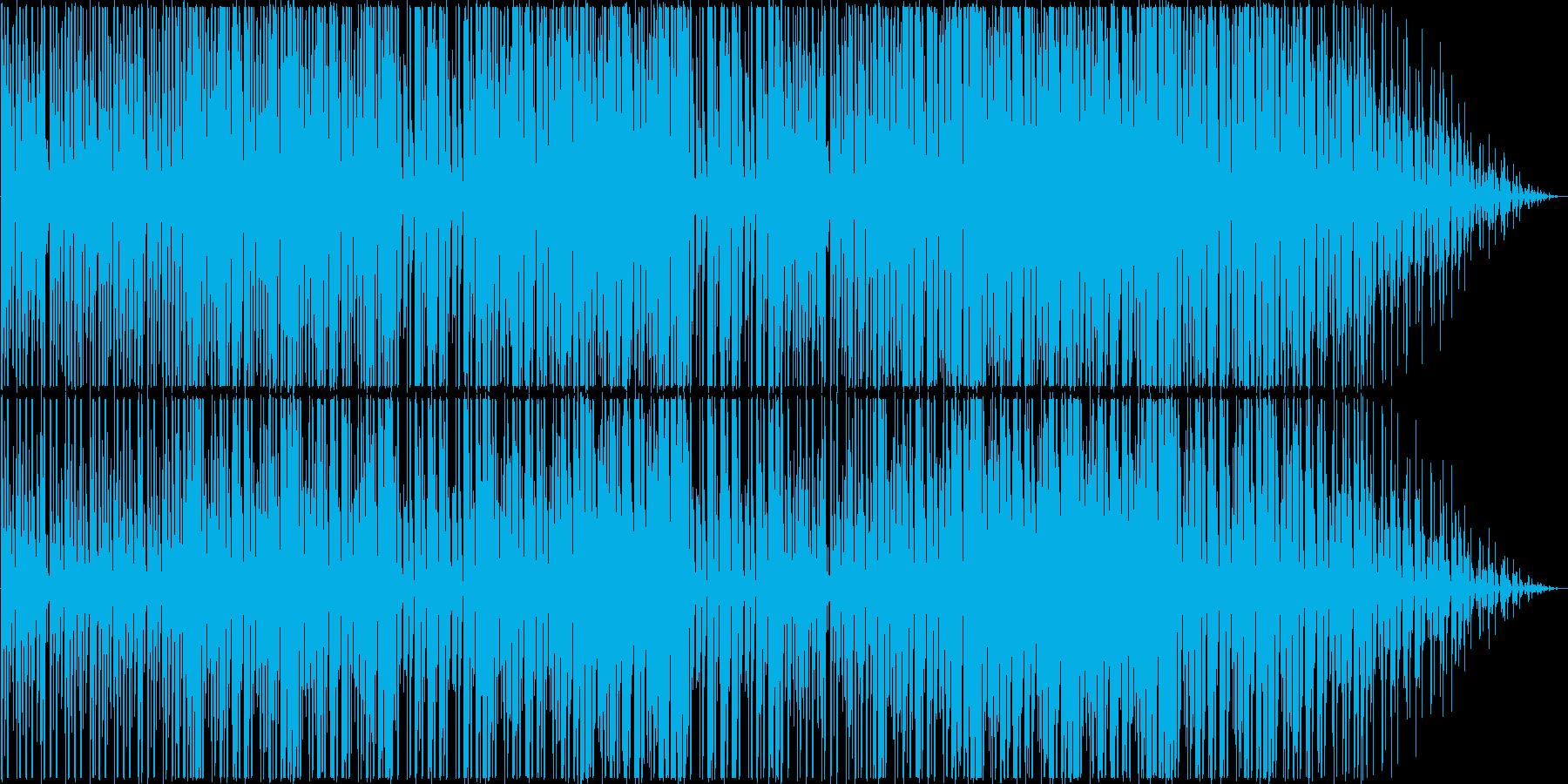 可愛らしくゆったりとしたデジタルポップの再生済みの波形