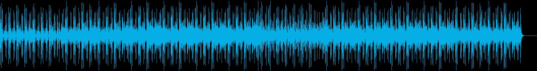 渋くておしゃれなバンドスタイルBGMの再生済みの波形