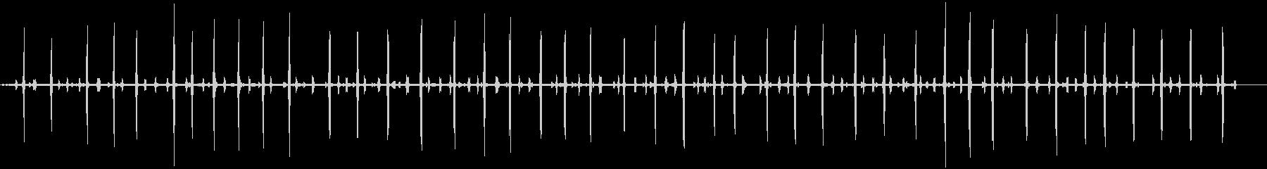 いくつかのクリケットをクリックして...の未再生の波形