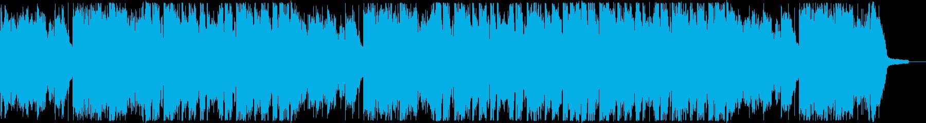 おしゃれで優しいフューチャーポップ・洋楽の再生済みの波形