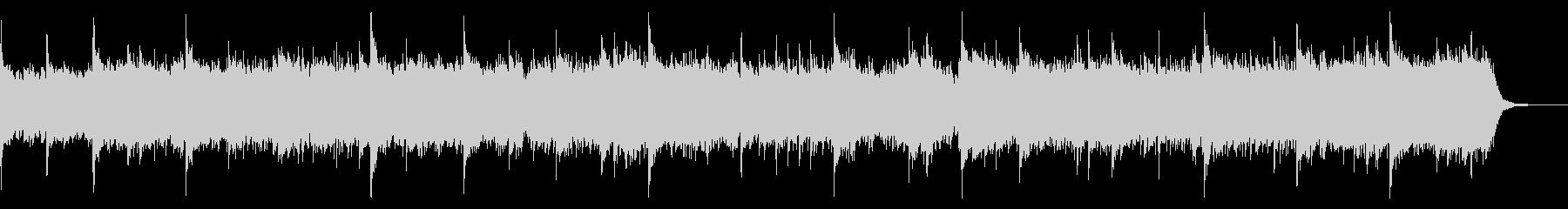 ピアノソロによるエレクトロニカの未再生の波形