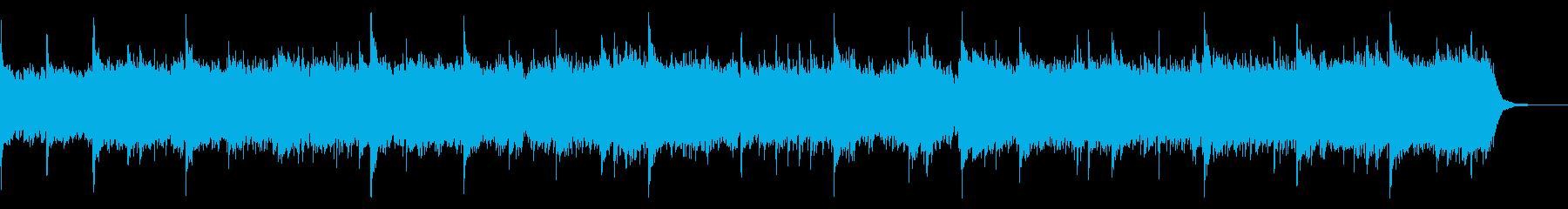 ピアノソロによるエレクトロニカの再生済みの波形