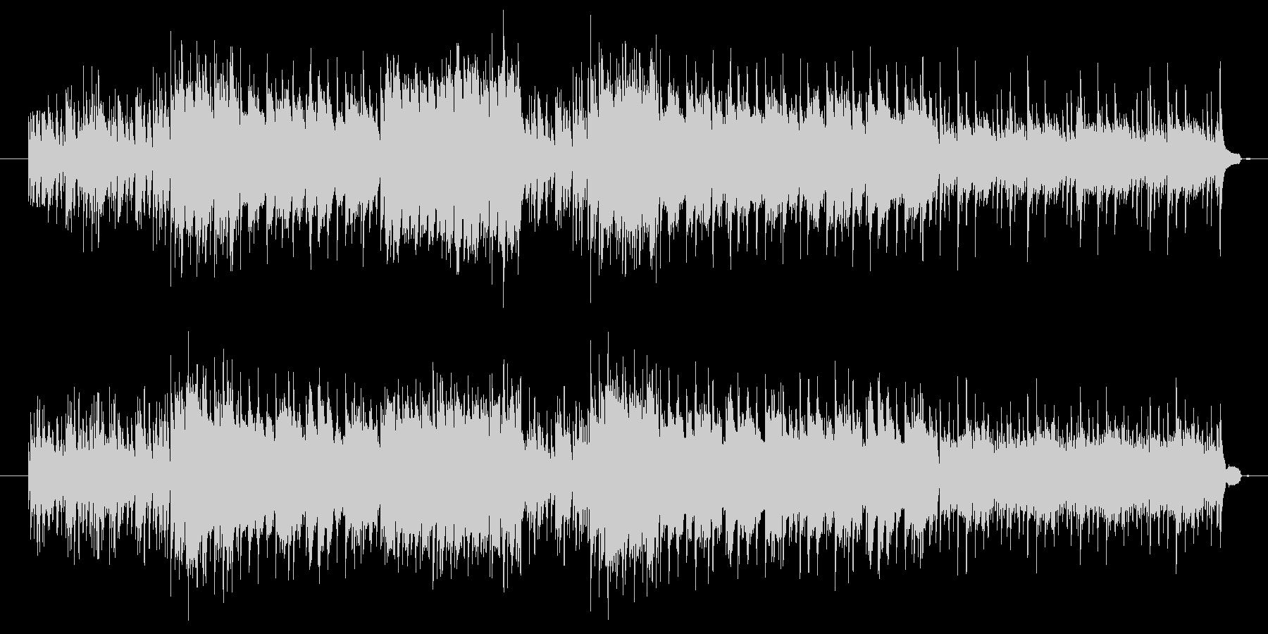 軽やかで明るいピアノ音楽の未再生の波形
