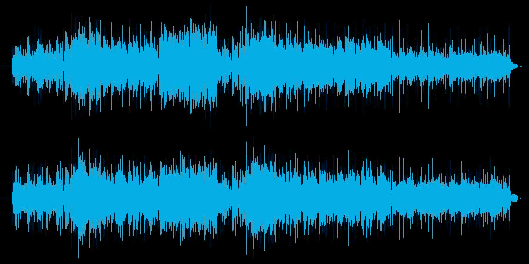 軽やかで明るいピアノ音楽の再生済みの波形