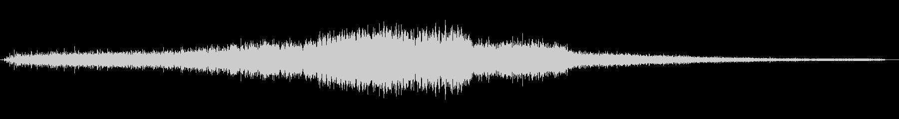電動ハンドドリル:ドリルシングルホ...の未再生の波形