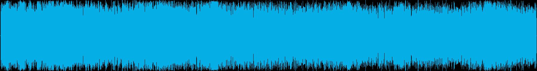 イメージ スクラッチマイバック01の再生済みの波形