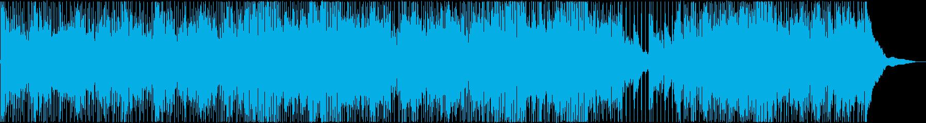 夏をイメージしたBGM(アコギ生演奏)の再生済みの波形