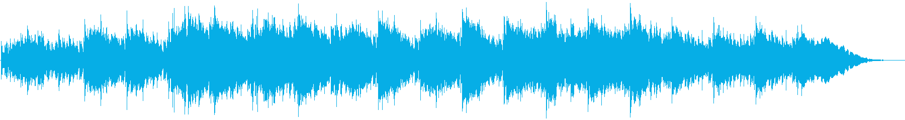 Guitar ambient that spreads in images and movies's reproduced waveform