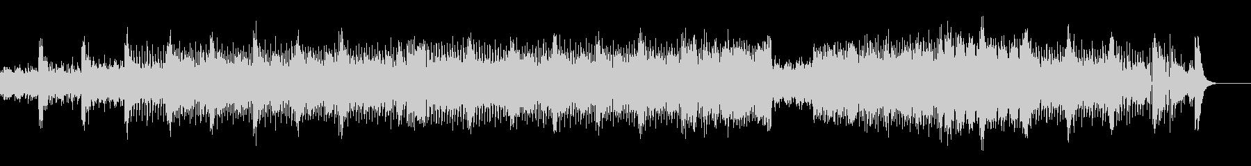 過激な音色構成のテクノ+トランスの未再生の波形