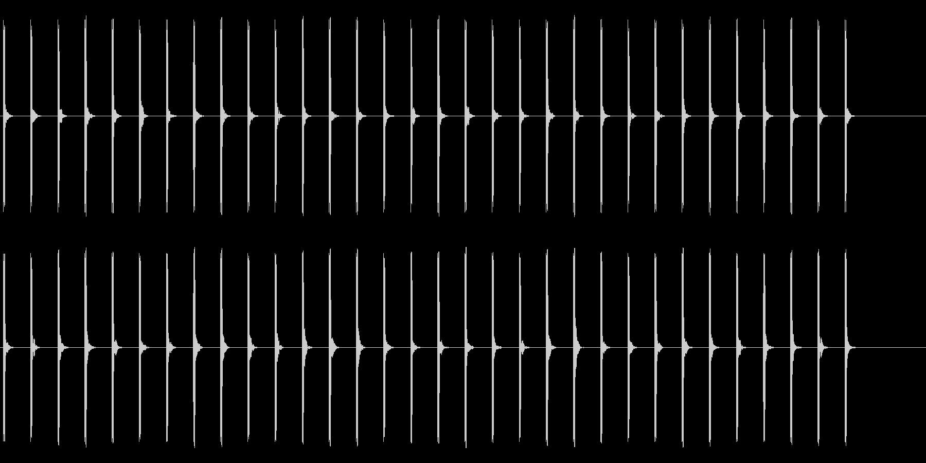心電図の音-5-2(BPM50)の未再生の波形