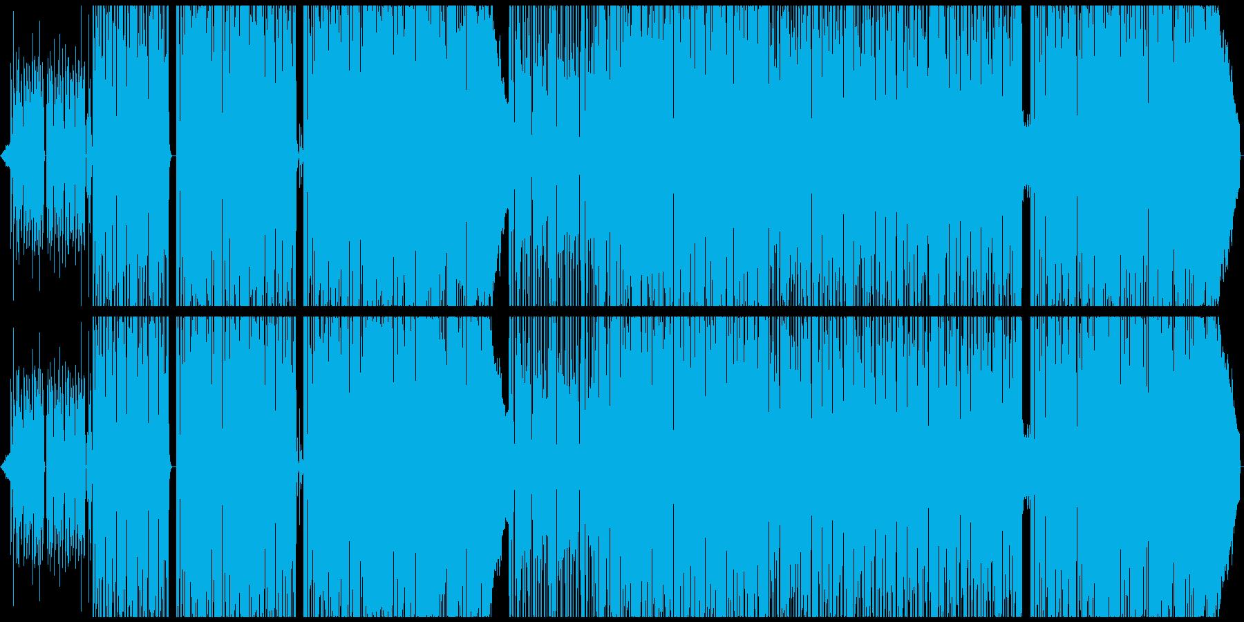【生サックス】ひねくれた感じのファンクの再生済みの波形