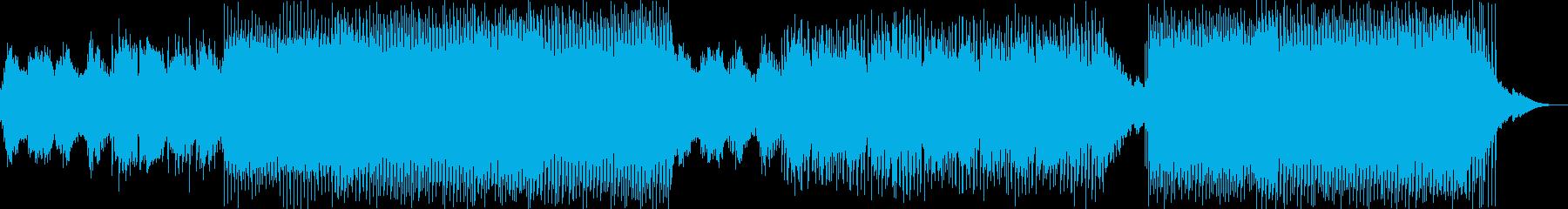 動画 サスペンス アクション 繰り...の再生済みの波形