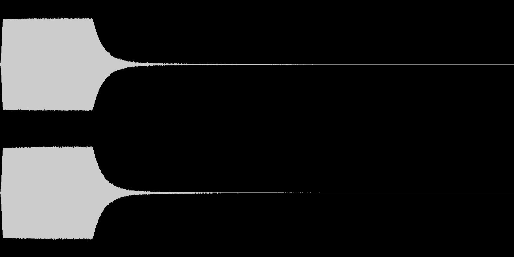 蒸気 スチーム プシュー 機関車の未再生の波形