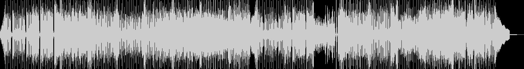 夏バテイメージの無気力ポップ 表リズムDの未再生の波形