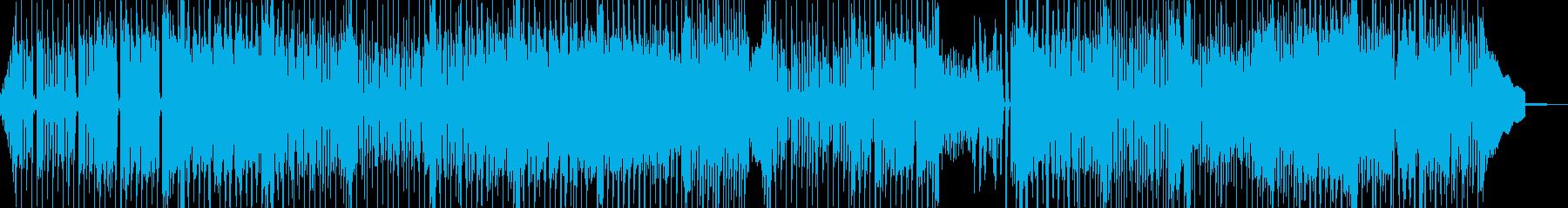夏バテイメージの無気力ポップ 表リズムDの再生済みの波形