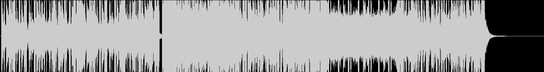 不気味さと重低音が気持ち良いシンセ曲の未再生の波形