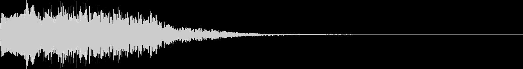 不思議な音09の未再生の波形