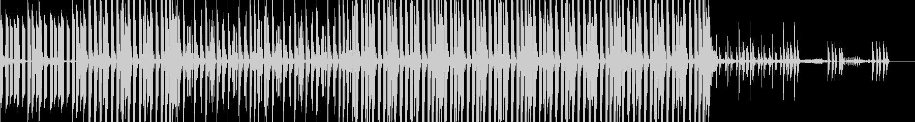 システムチックでシンプルなテクノの未再生の波形