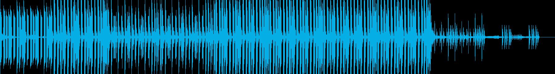 システムチックでシンプルなテクノの再生済みの波形