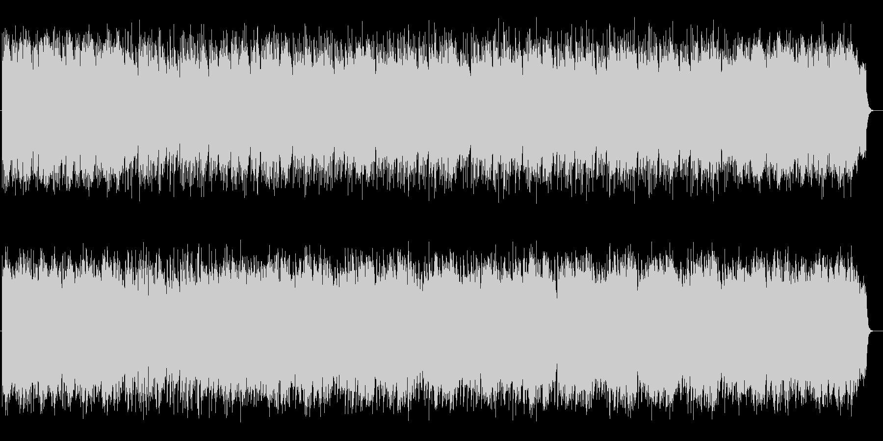 艶やかな和風シンセサイザー弦楽器サウンドの未再生の波形