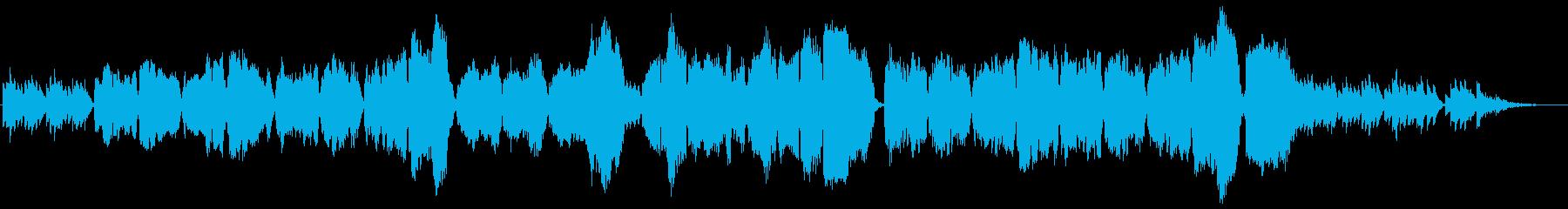 琴と尺八によるバラードの再生済みの波形