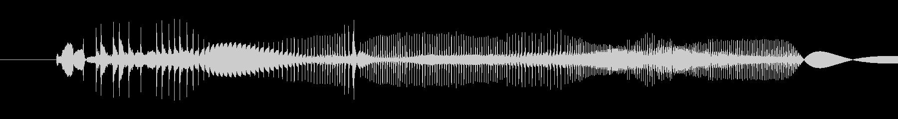 レコード傷1の未再生の波形
