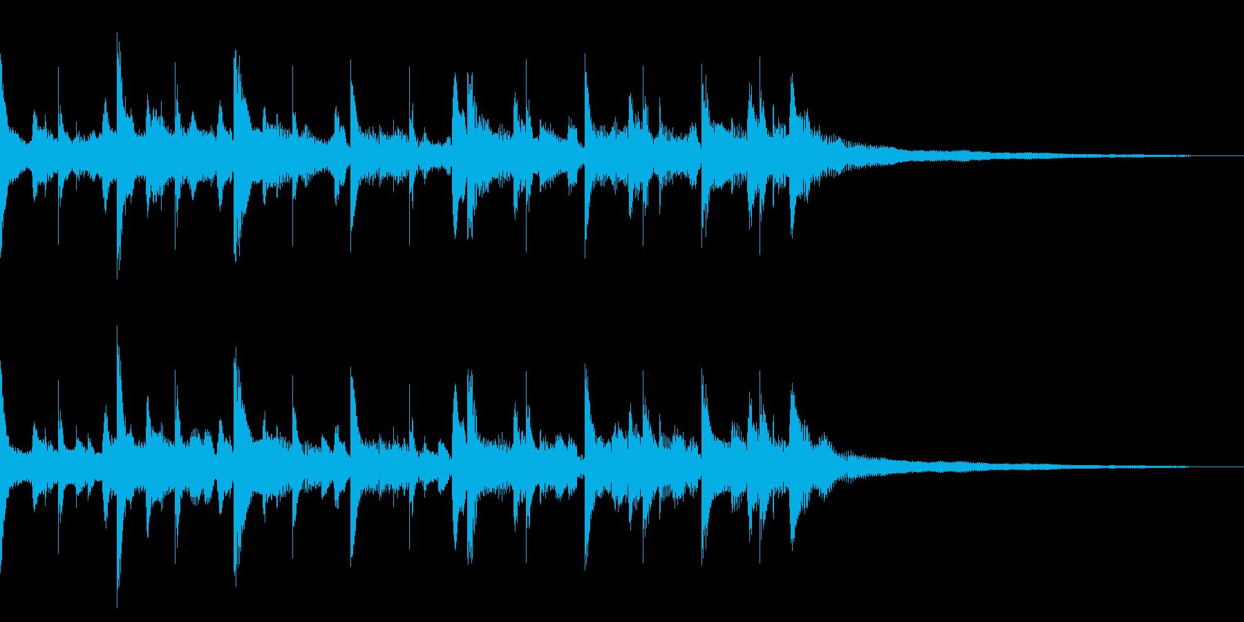 ★ジングル/チルアウト アコギ+αの再生済みの波形