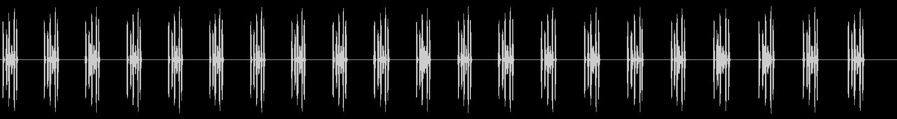 コンピューターテレメトリー:カウン...の未再生の波形